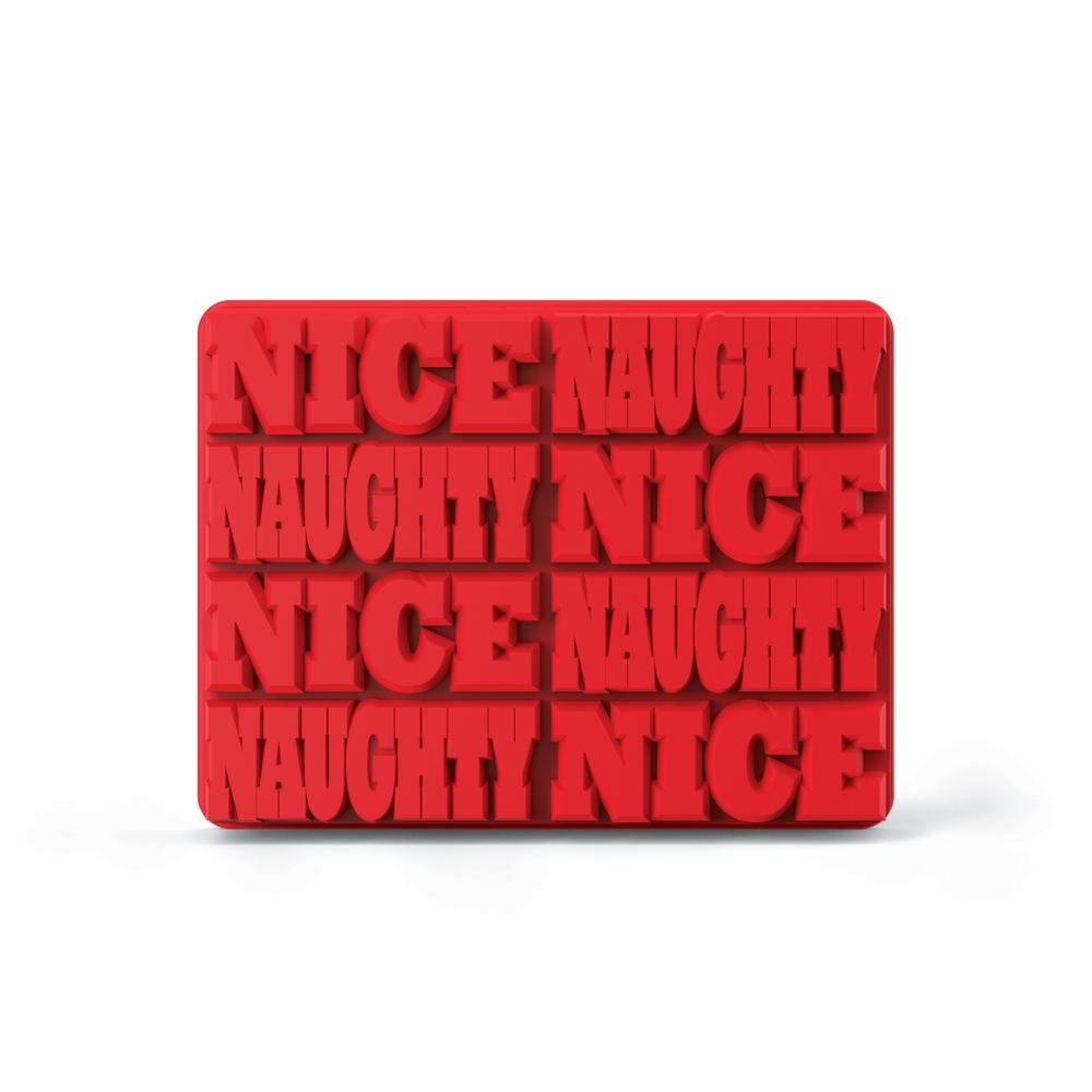 ZOKU 長型字母製冰盒- Naughty/Nice共8條