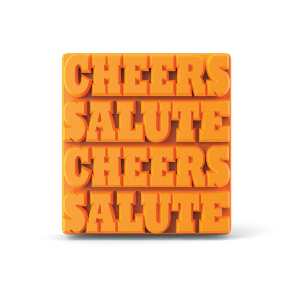 ZOKU 長型字母製冰盒- Cheers/Salute共4條