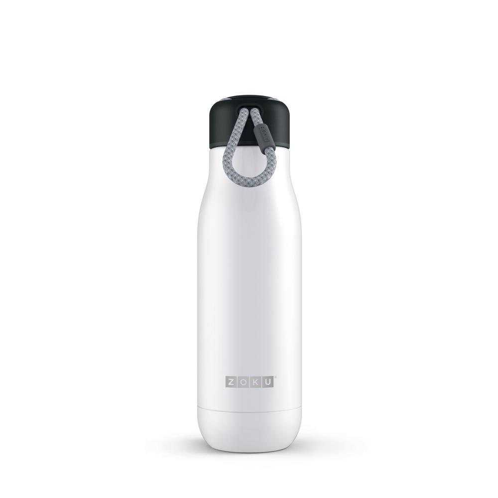 ZOKU|真空不鏽鋼保溫瓶(500ml) - 珍珠白