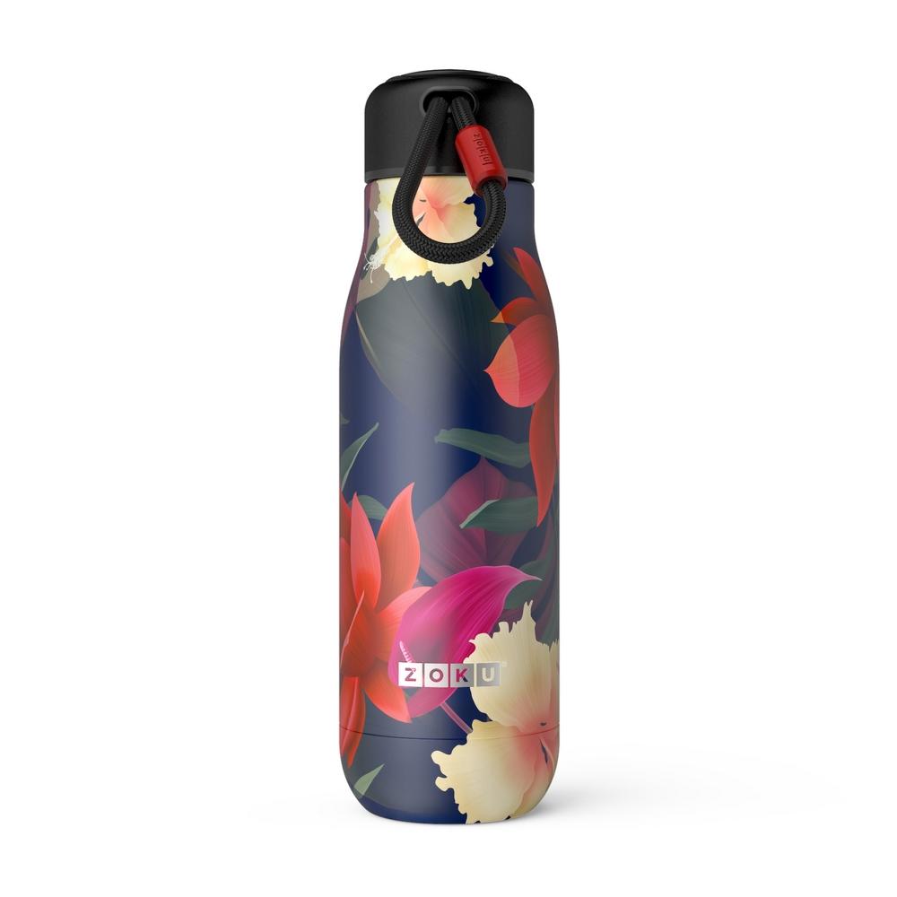 ZOKU|設計款真空不鏽鋼保溫瓶(500ml) - 夏日風情