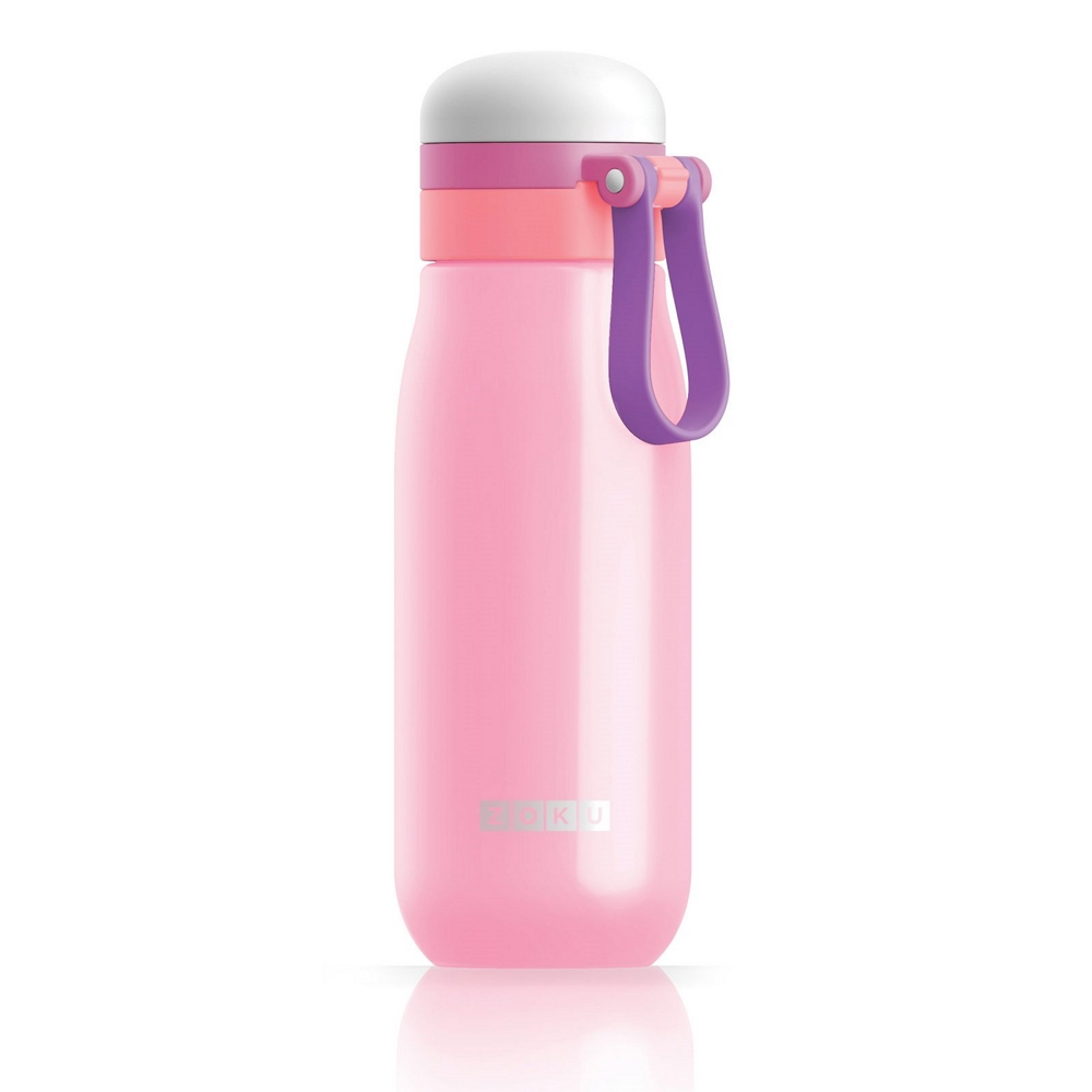 ZOKU 輕量304不鏽鋼冷水壺-粉紅色