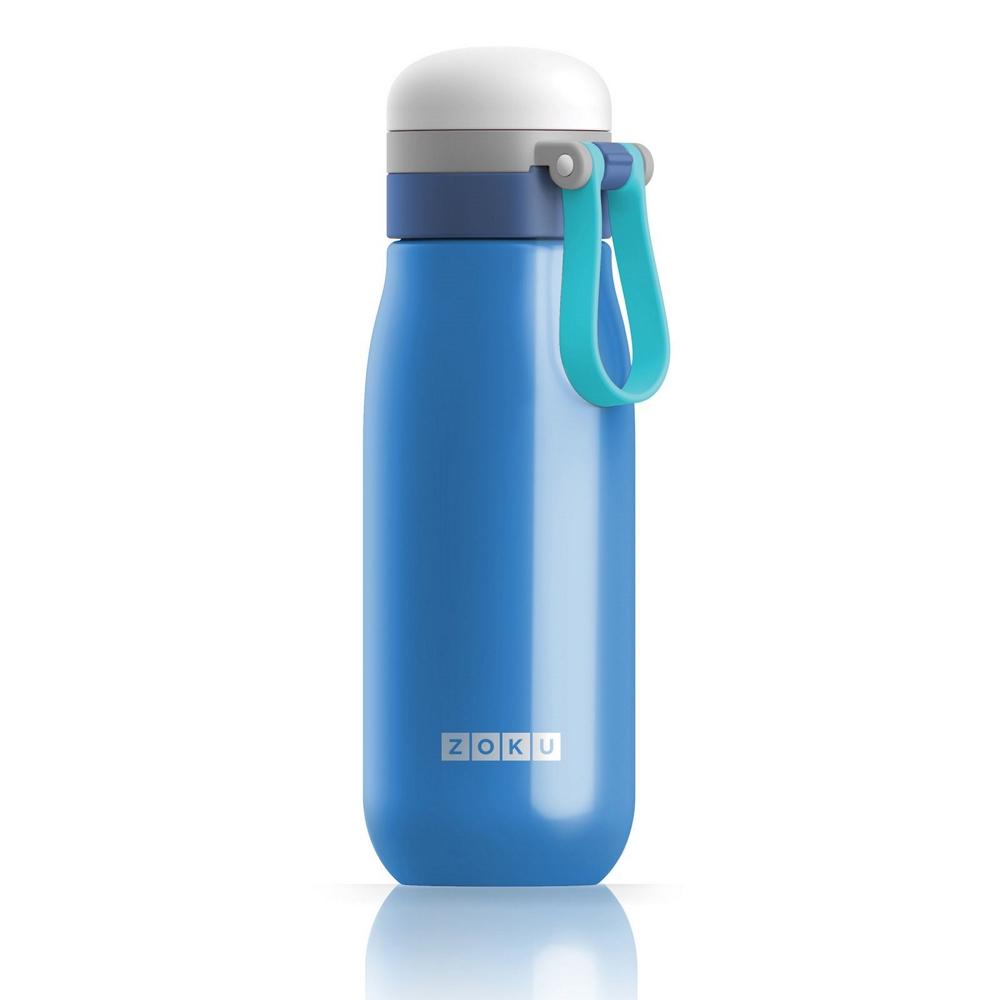 ZOKU 輕量304不鏽鋼冷水壺-藍色