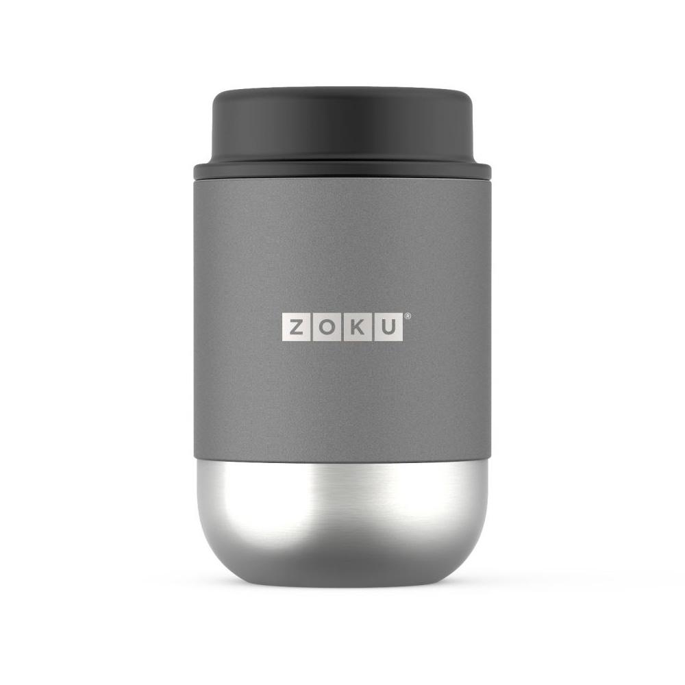 ZOKU|真空304不鏽鋼食物罐475ml-銀色