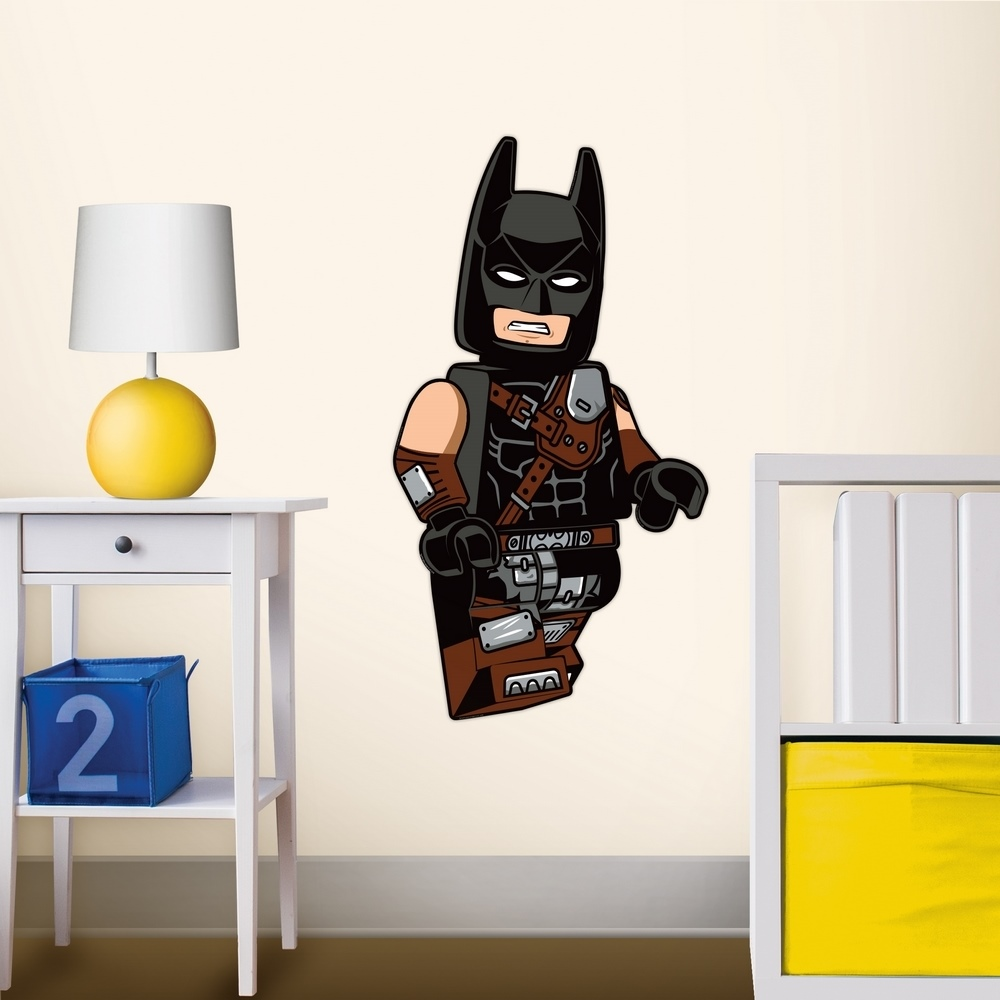 LEGO|拼圖靜電貼-蝙蝠俠