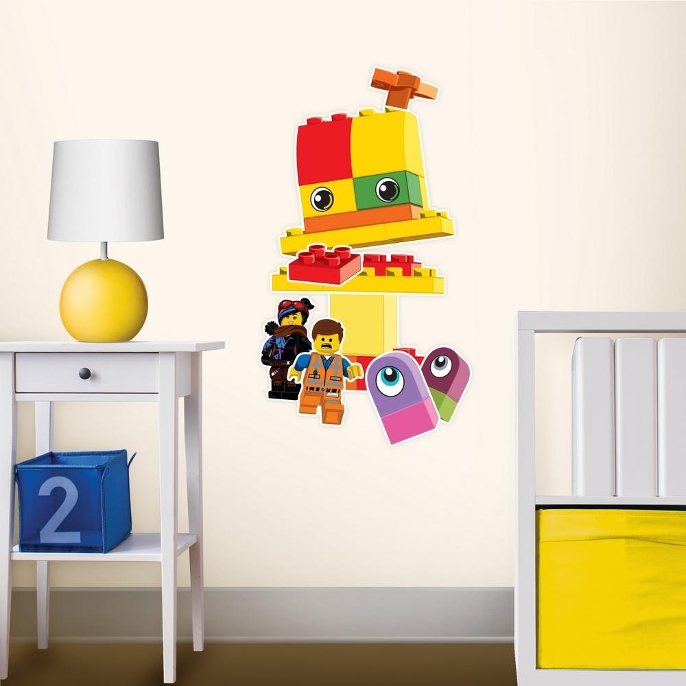 LEGO 拼圖靜電貼-得寶外星人