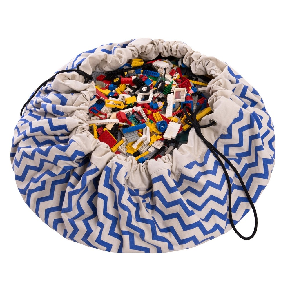 Play & Go 玩具整理袋 - 電波藍