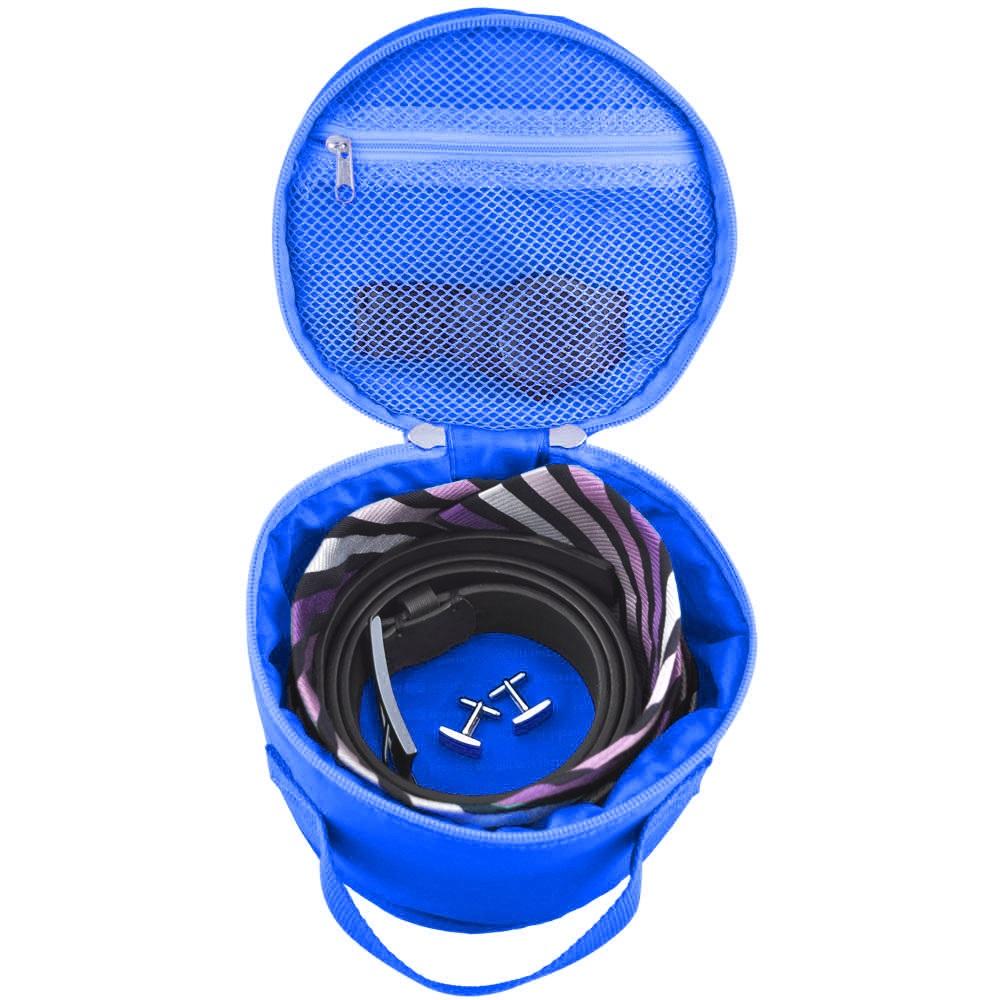 Lapoché|圓筒整理袋-藍