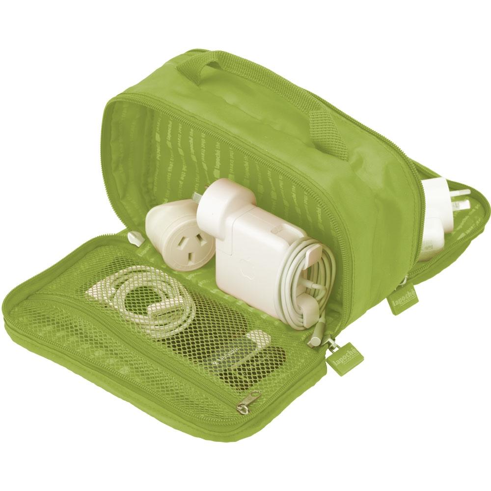 Lapoché 集線收納包-綠色