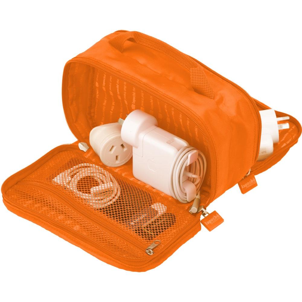 Lapoché|集線收納包-橘色