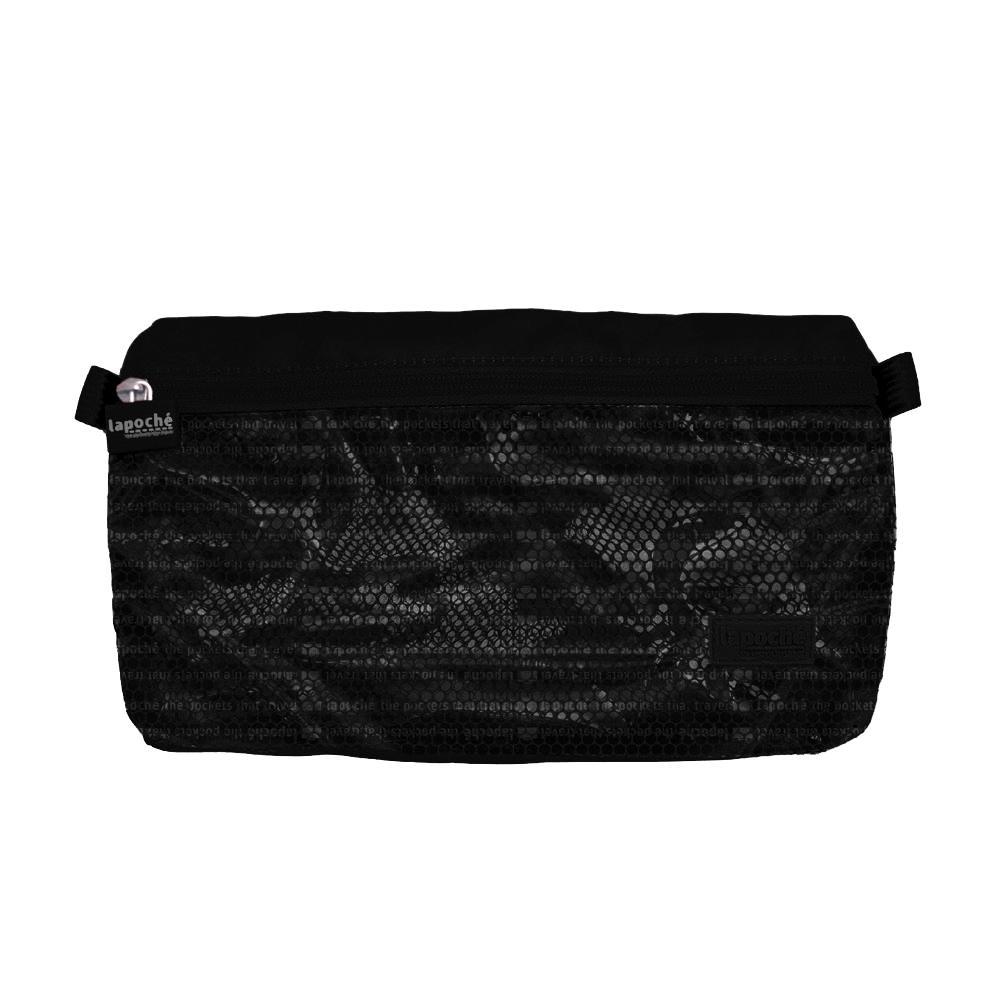 Lapoché|防潑水收納包(小)-黑色