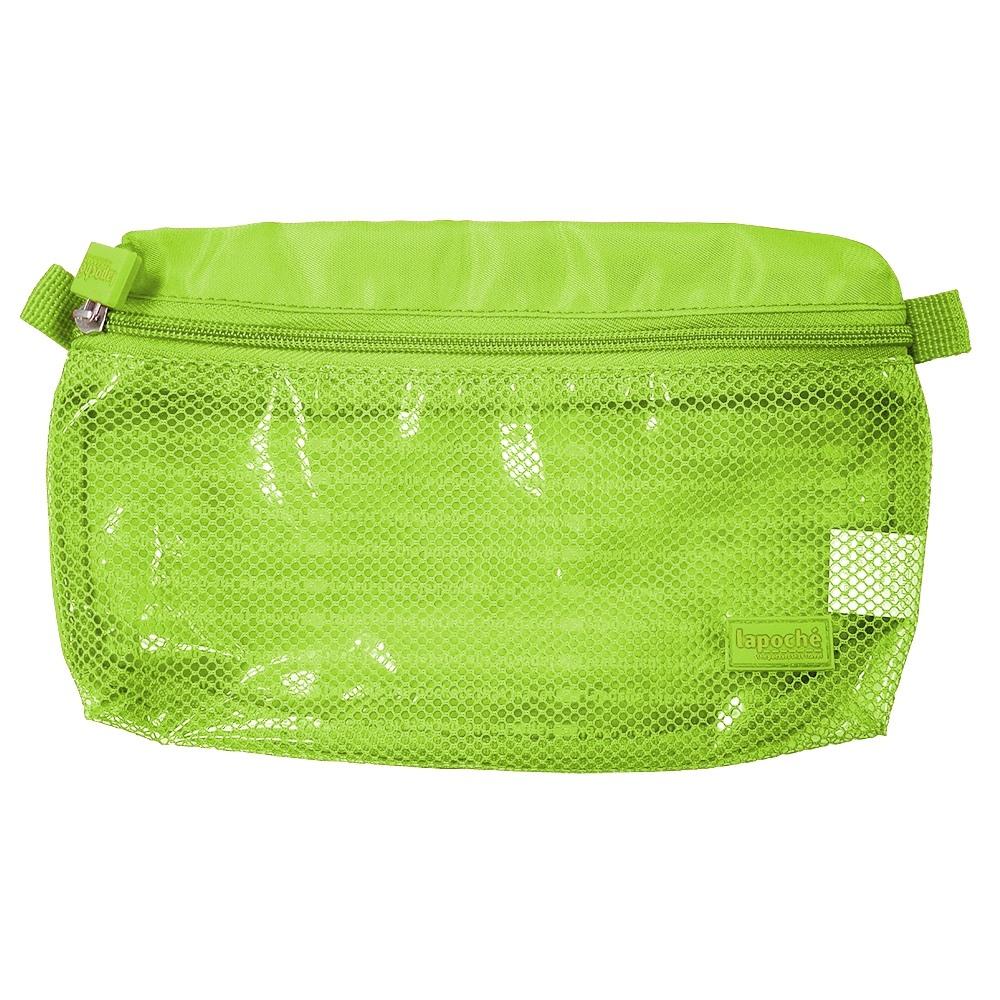Lapoché|防潑水收納包(大)-綠色