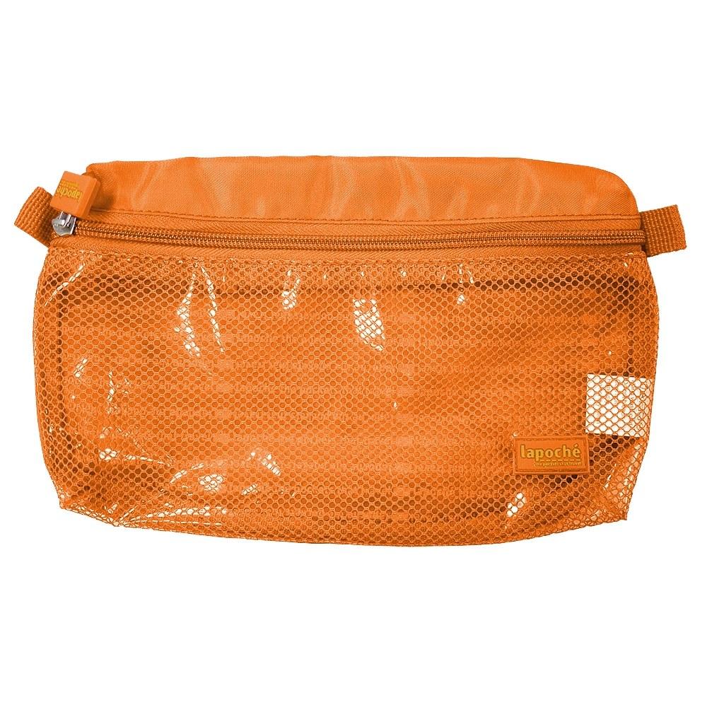 Lapoché 防潑水收納包(大)-橘色