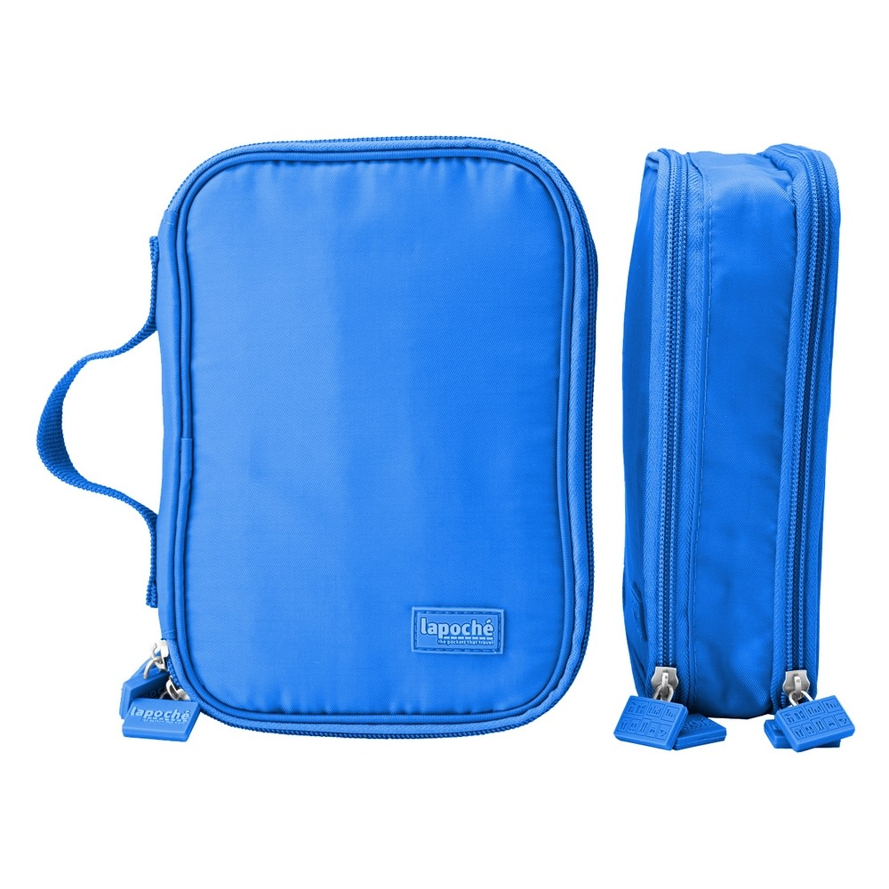 Lapoché|首飾配件收納包-藍色