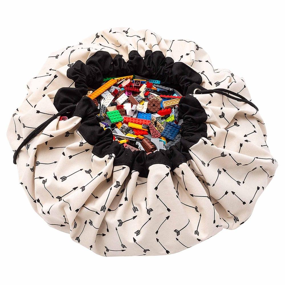 Play & Go|玩具整理袋-黑色羽箭