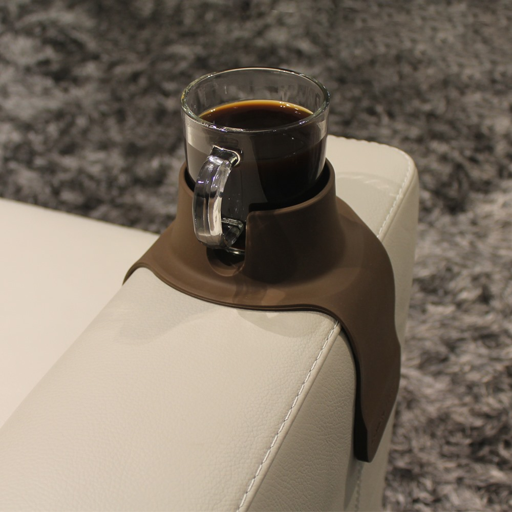 CouchCoaster|沙發防倒杯架-咖啡色