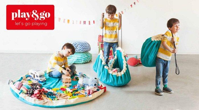Play & Go 玩具整理袋-繽紛彩虹