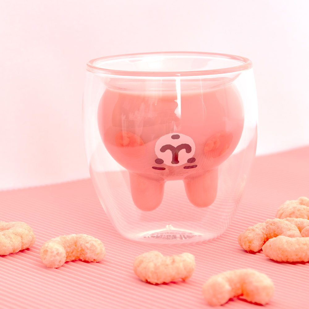 KSA|卡娜赫拉的小動物造型雙層玻璃杯