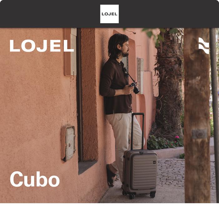 (複製)LOJEL|CUBO前開式可擴充 防盜拉鍊登機箱 21吋(芥末黃)