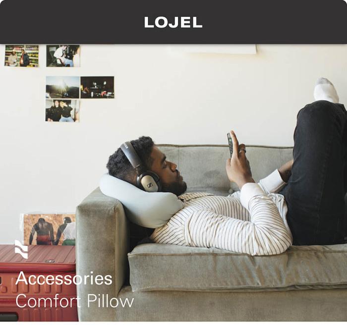 (複製)LOJEL|Air Pillow 吹氣頸枕 (黑色)