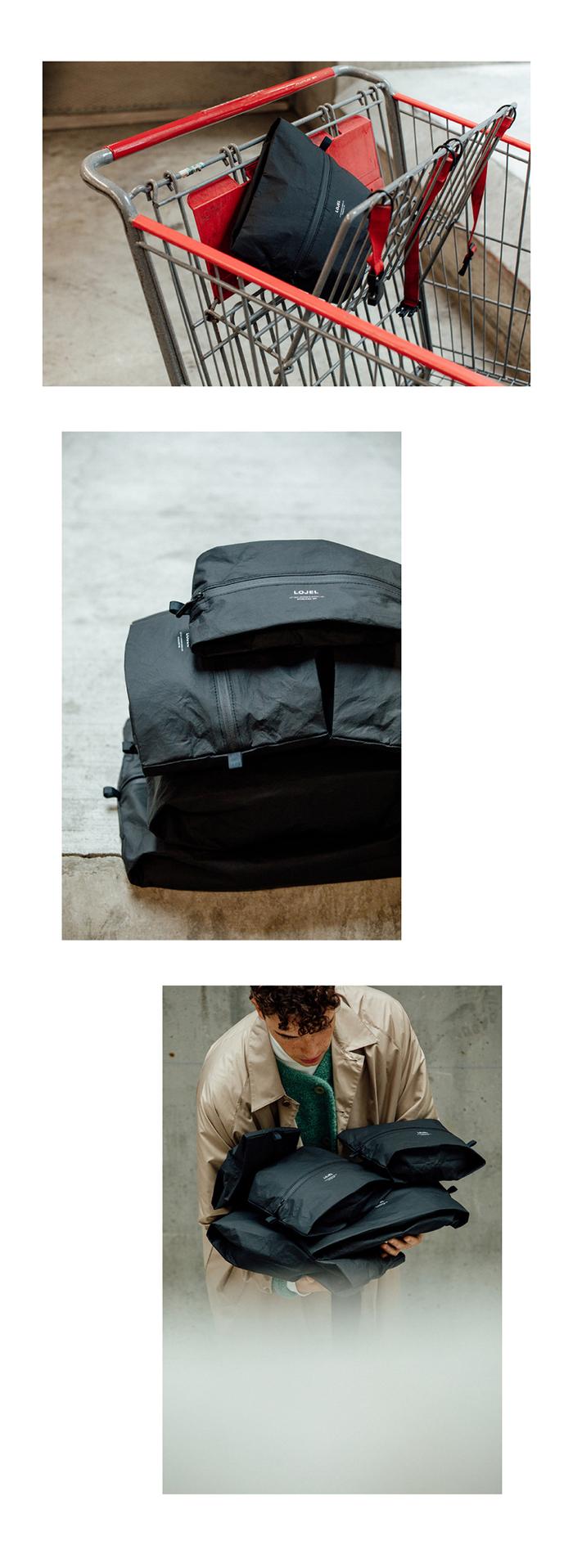 (複製)LOJEL Slash/ 腰包/ 肩背包 (黑色)