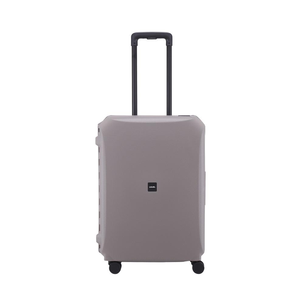 LOJEL VOJA  PP框架扣鎖行李箱 26吋 (灰色)