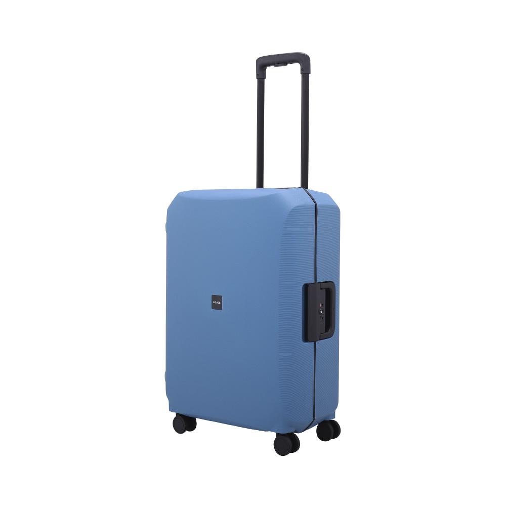 LOJEL|VOJA  PP框架扣鎖行李箱 26吋 (藍色)