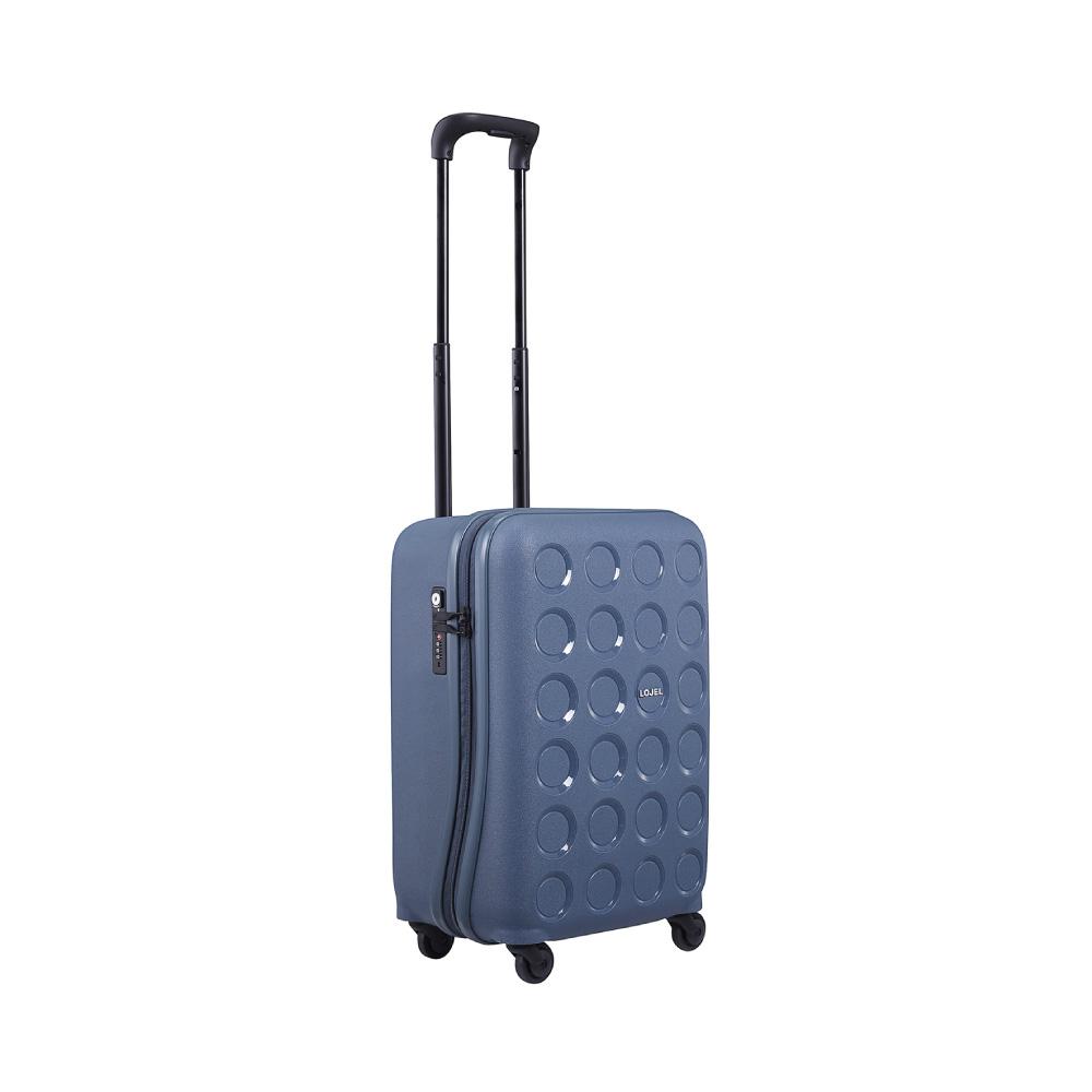 LOJEL VITA PP防盜拉鍊箱 22吋登機箱 (鋼藍色)