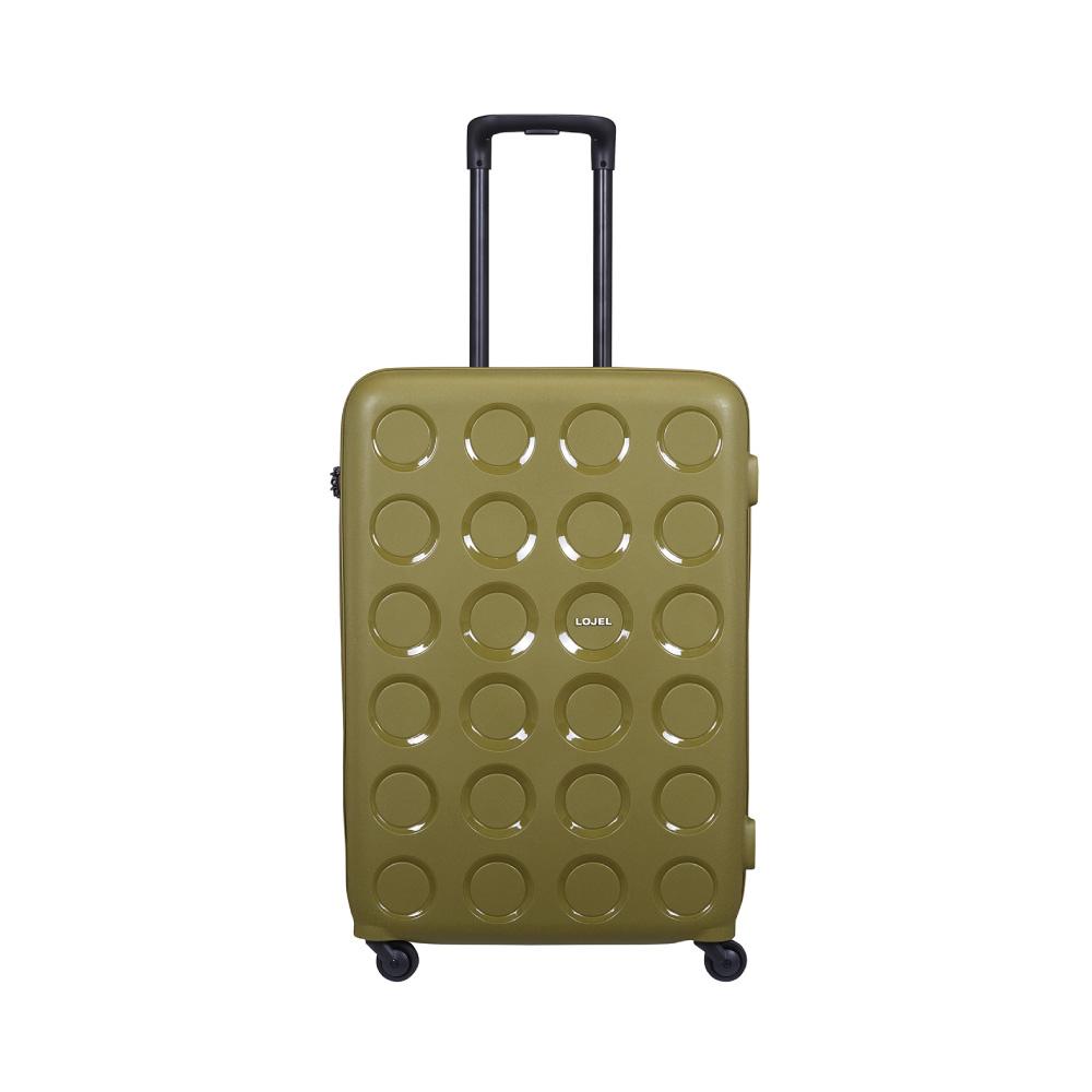 LOJEL VITA PP防盜拉鍊箱 28吋行李箱 (橄欖綠色)