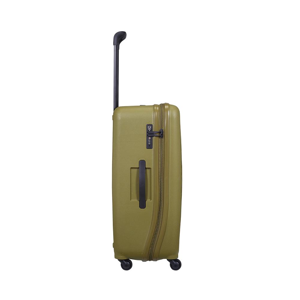 LOJEL|VITA PP防盜拉鍊箱 28吋行李箱 (橄欖綠色)