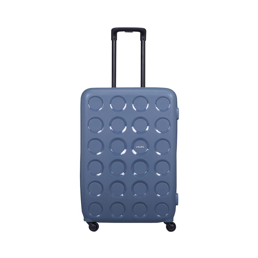 LOJEL|VITA PP防盜拉鍊箱 28吋行李箱(鋼藍色)