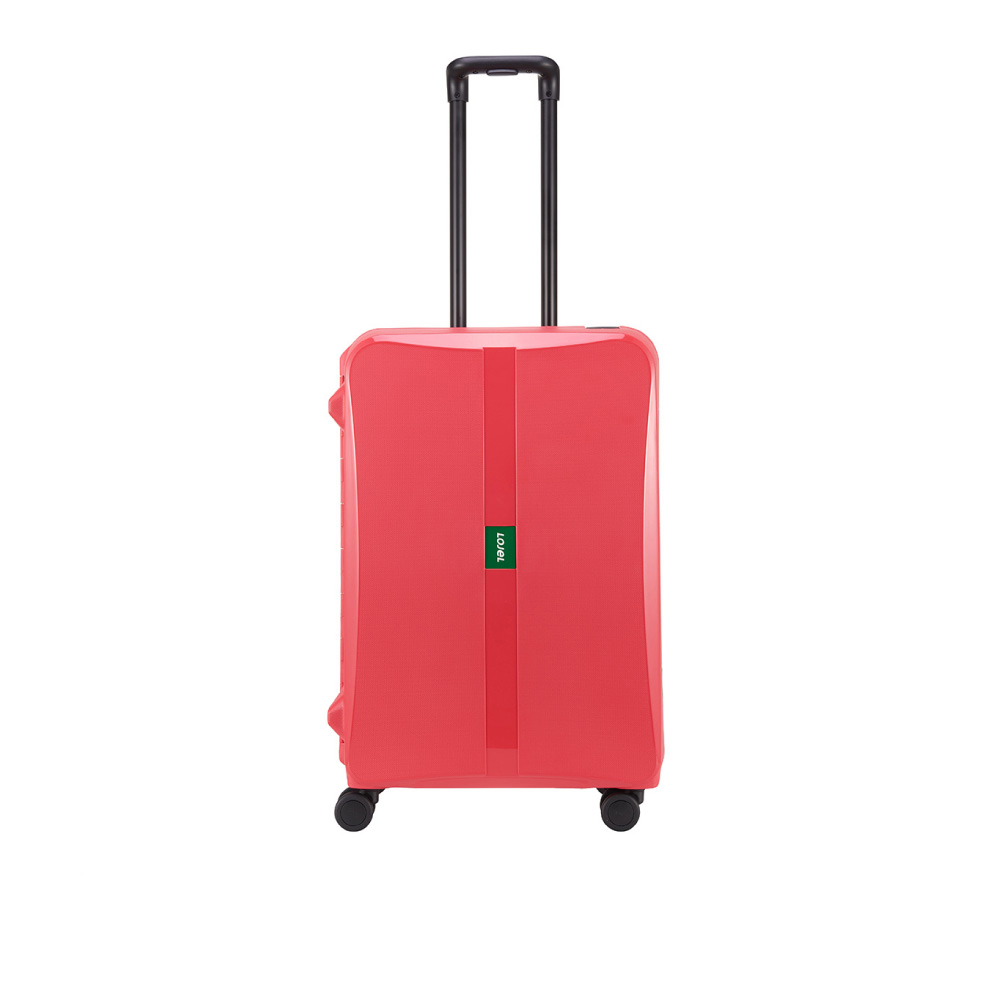 LOJEL OCTA 2 PP 框架 密碼行李箱 26吋行李箱 (紅色)
