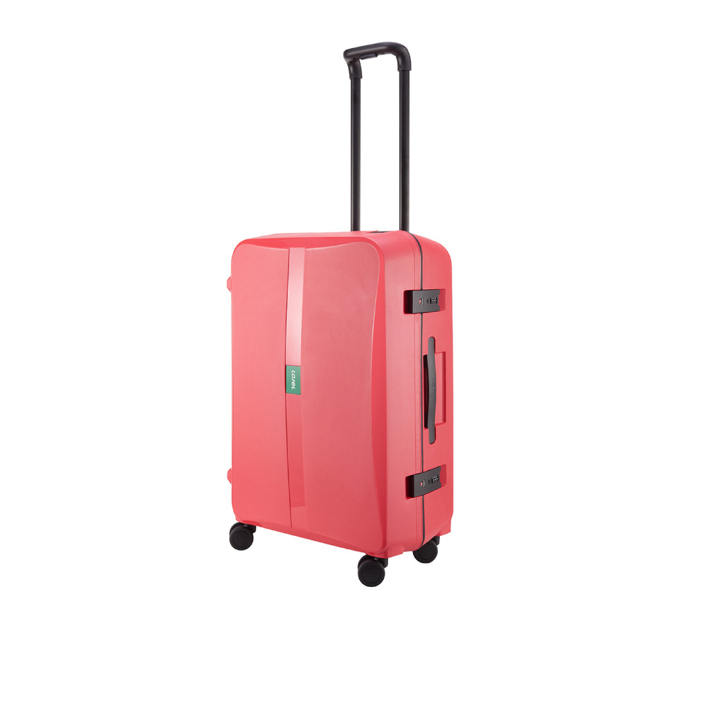 LOJEL|OCTA 2 PP 框架 密碼行李箱 26吋行李箱 (紅色)