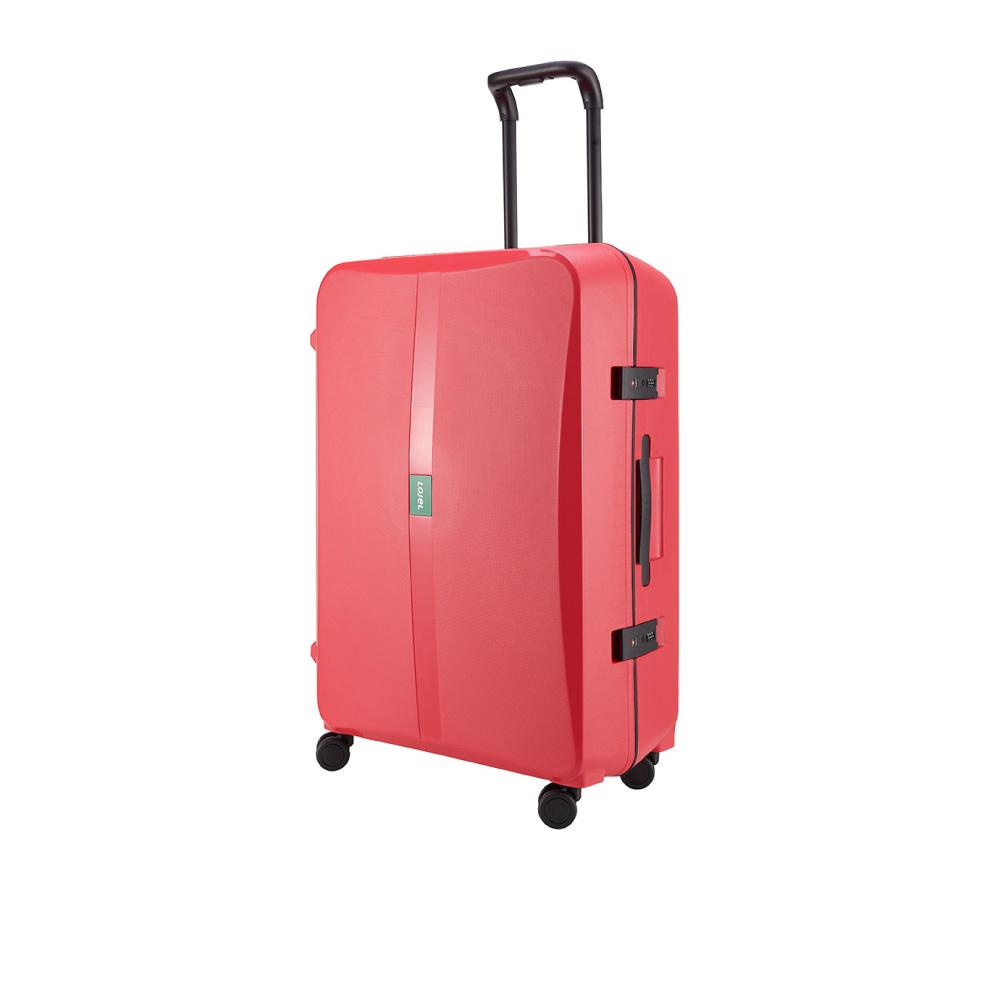 LOJEL OCTA 2 PP 框架 密碼行李箱 30吋行李箱 (紅色)