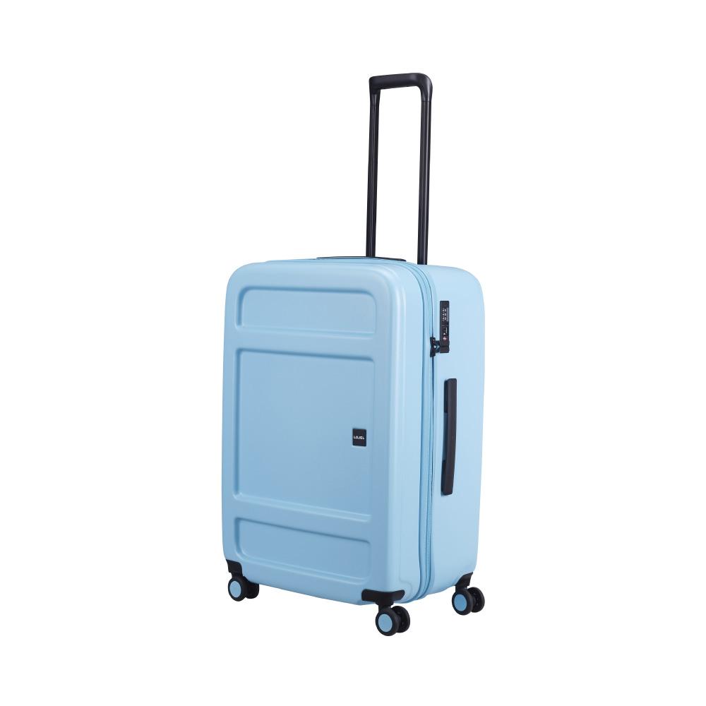 LOJEL|JUNA 防盜拉鍊 27吋行李箱 (粉藍色)