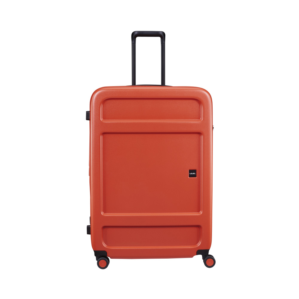 LOJEL|JUNA 防盜拉鍊 31吋行李箱 (日出紅色)