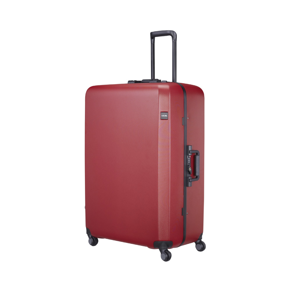 LOJEL|RANDO 細鋁框 旋轉鎖 30吋行李箱 (紅色)