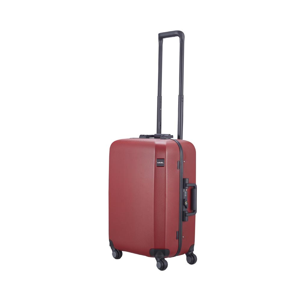 LOJEL RANDO 細鋁框 旋轉鎖 22吋登機箱 (紅色)
