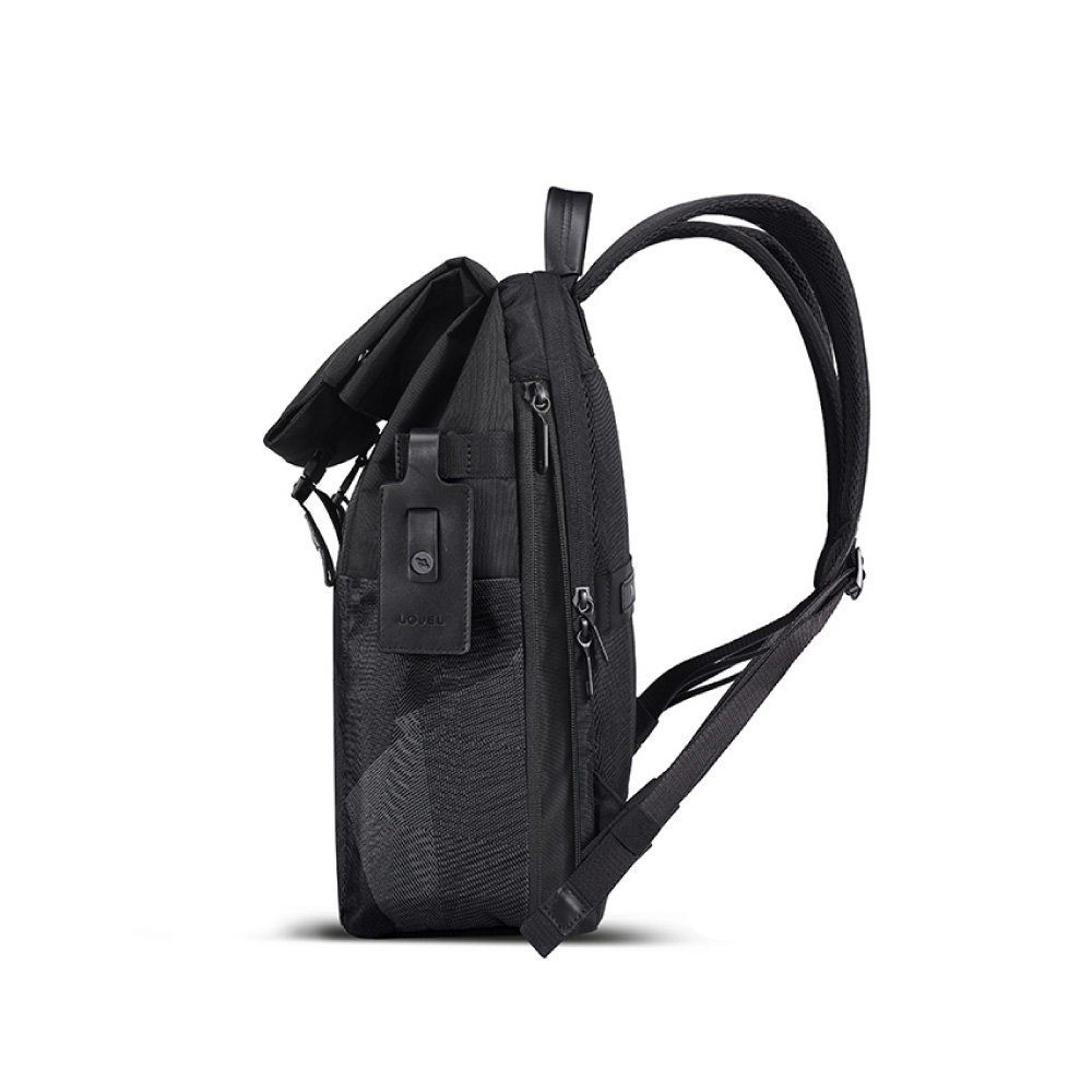 LOJEL RUBO2 翻蓋差扣式 防盜 電腦後背包( 低調灰)