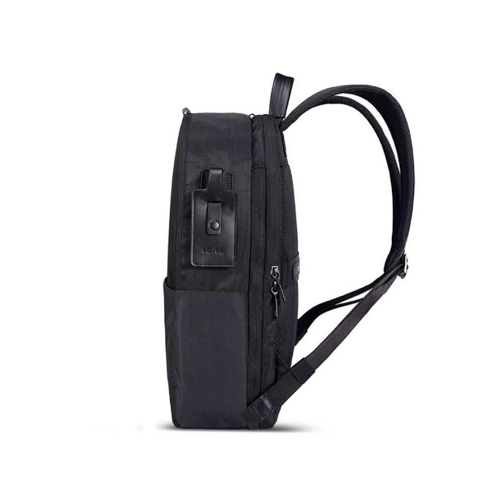 LOJEL|URBO2 可擴充大開口機能電腦公事包/ 輕旅行包 ( 經典黑)