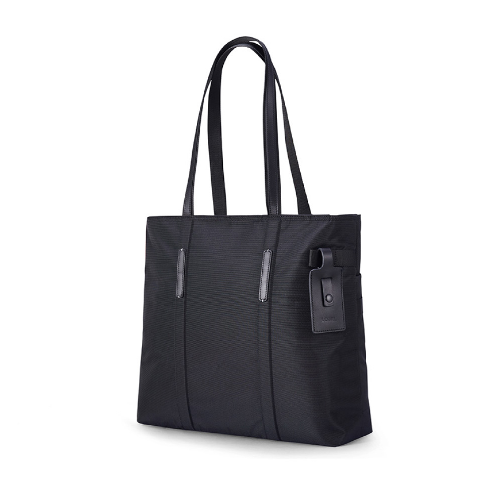 LOJEL|RUBO2 肩背托特公事包/輕旅行包 ( 經典黑)