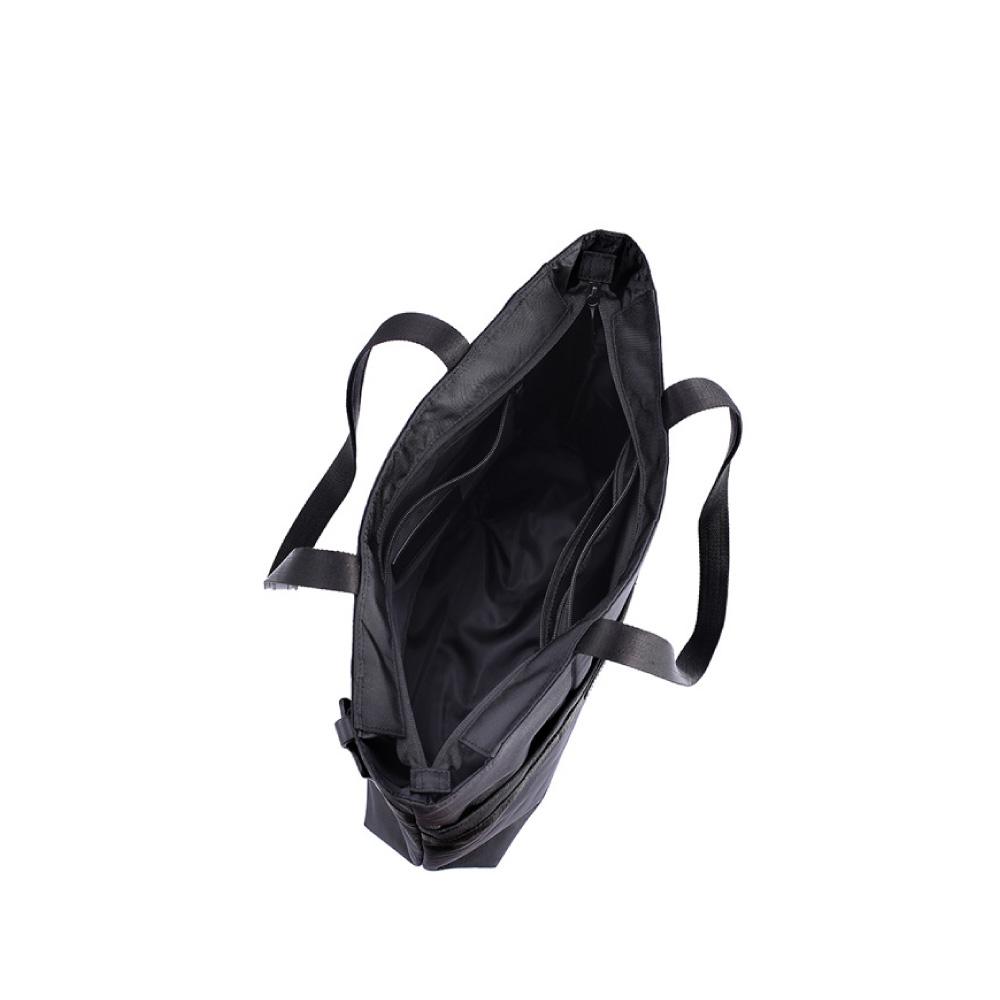 LOJEL|URBO2 肩背托特公事包/輕旅行包 ( 經典黑)