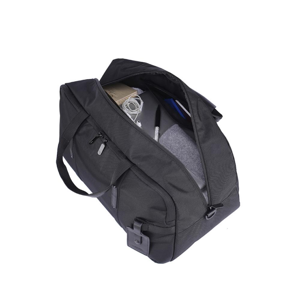 LOJEL|URBO2 肩背/手提 底層鞋子收納 多功能旅行袋 ( 經典黑)
