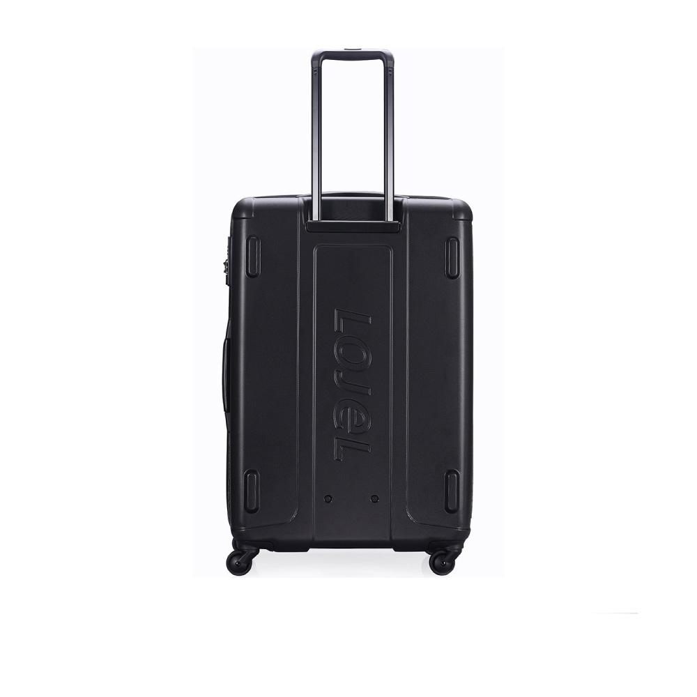 LOJEL|EXOSIII 軟硬結合 前開袋防盜拉鍊箱 30吋(黑色)