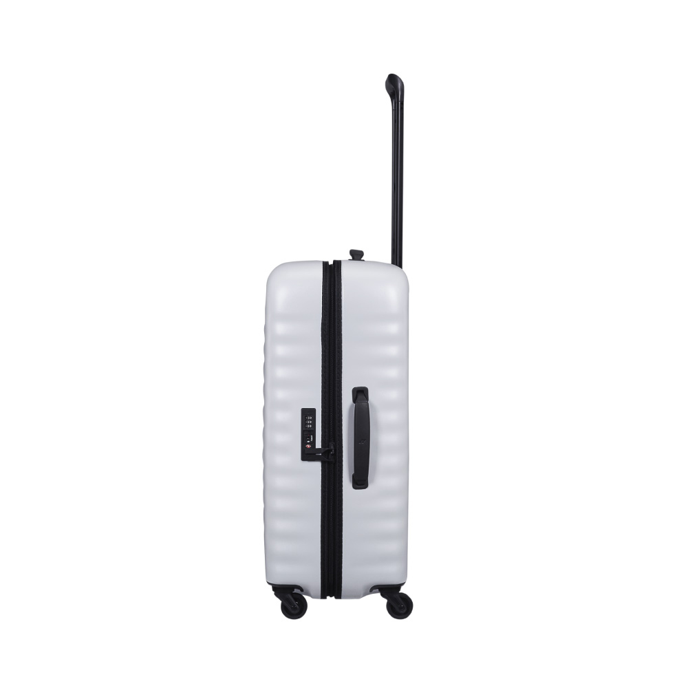 LOJEL|ALTO 夜光管條 雙齒防盜拉鍊 行李箱  27吋(灰白色)