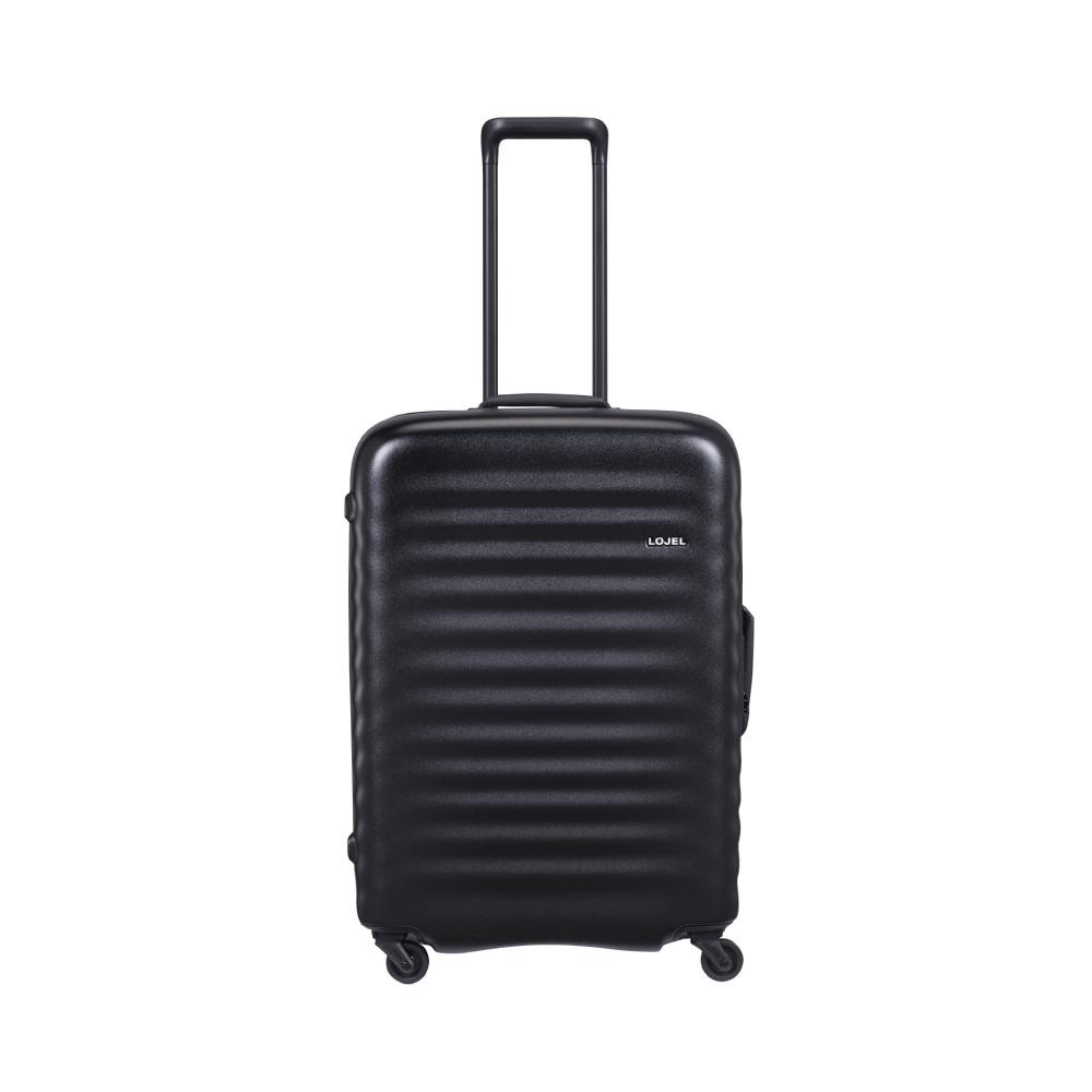 LOJEL|ALTO 夜光管條 雙齒防盜拉鍊 行李箱  27吋(黑色)
