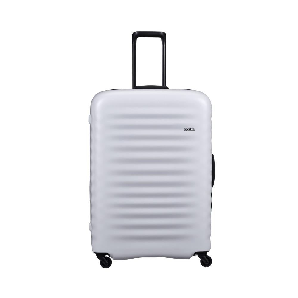 LOJEL|ALTO 夜光管條 雙齒防盜拉鍊 行李箱  29吋(灰白色)