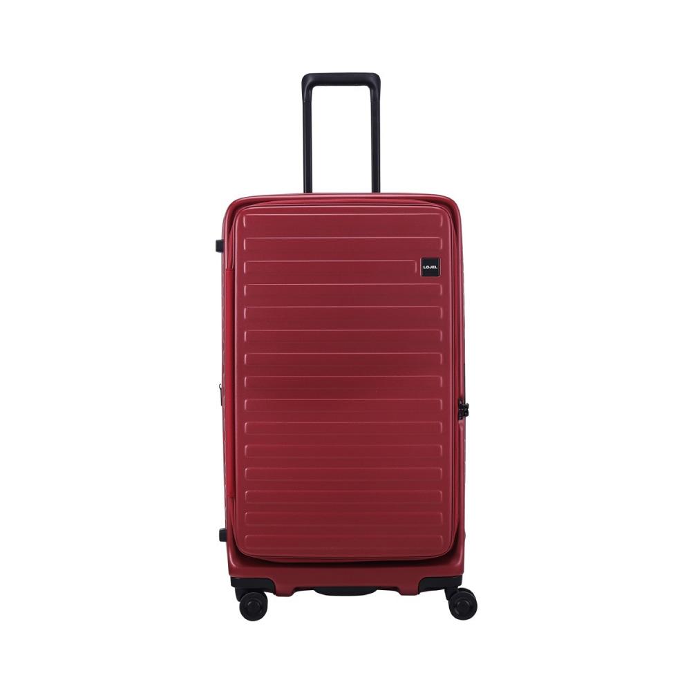 LOJEL|CUBO FIT 前開式可擴充 防盜拉鍊箱 29.5吋(酒紅色)