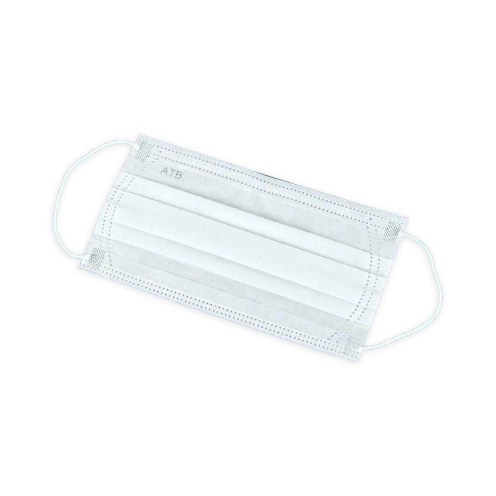 安田堡│一次性三層防塵口罩- 二盒(共100片)