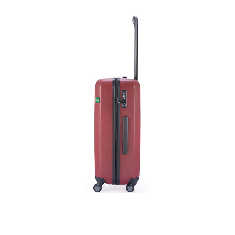LOJEL|27吋 RANDO 防盜雙尺拉鍊 行李箱- 磚紅色