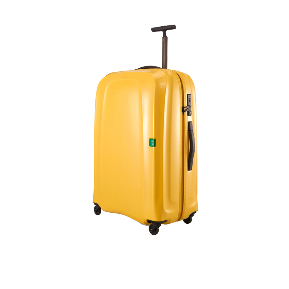 LOJEL|30吋 LUMO 超輕量 防盜雙尺拉鍊 行李箱- 芥末黃
